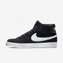 Nike zapatillas para hombre sb zoom blazer premium se negro/blanco/gris básico