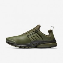 Nike zapatillas para hombre air presto utility caqui militar/negro/negro/caqui militar