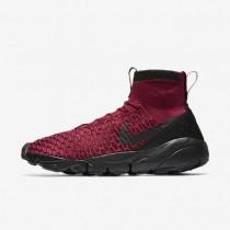 Nike zapatillas para hombre air footscape magista flyknit f.c. rojo team/rojo team/oro metalizado/negro