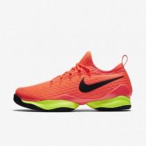 Nike zapatillas para hombre court air zoom ultra react hipernaranja/voltio/negro