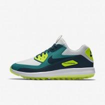Nike zapatillas para hombre air zoom 90 it platino puro/azul verdoso río/voltio/turquesa medianoche