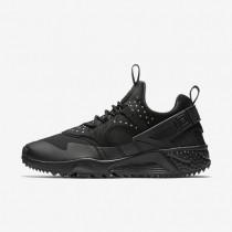 Nike zapatillas para hombre air huarache utility negro/negro/negro