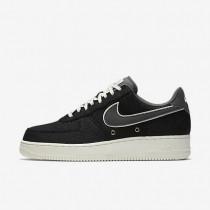 Nike zapatillas para hombre air force 1 07 lv8 negro/vela/gris oscuro
