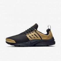Nike zapatillas para hombre air presto essential negro/oro metalizado/blanco/negro