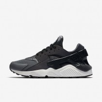 Nike zapatillas para hombre air huarache premium gris oscuro/negro/platino puro/negro