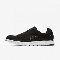 Nike zapatillas para hombre mayfly woven negro/blanco cumbre/negro
