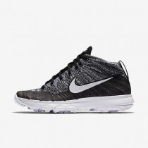 Nike zapatillas para mujer flyknit chukka negro/blanco