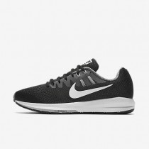 Nike zapatillas para hombre air zoom structure 20 negro/gris azulado/gris lobo/blanco