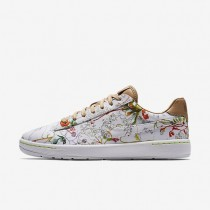 Nike zapatillas para mujer liberty tennis classic ultra leather blanco/tostado vachetta/voltio/blanco