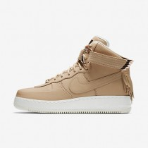 Nike zapatillas para hombre air force 1 high sport lux tostado vachetta/vela/tostado vachetta