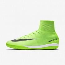 Nike zapatillas para hombre mercurialx proximo ii ic verde eléctrico/verde fantasma/marrón claro goma/negro