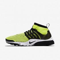 Nike zapatillas para hombre air presto ultra flyknit voltio/blanco/negro