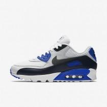 Nike zapatillas para hombre air max 90 essential obsidiana/platino puro/azul carrera/gris oscuro metálico