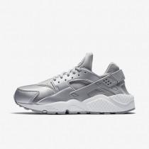 Nike zapatillas para mujer air huarache se plata metalizado/platino puro/blanco cumbre/plata mate