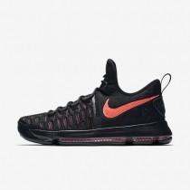 Nike zapatillas para hombre zoom kd 9 premium negro/ponche cálido