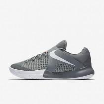 Nike zapatillas para hombre zoom live 2017 gris azulado/platino puro/carmesí total/blanco
