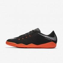 Nike zapatillas para hombre hypervenomx phelon 3 ic negro/negro/antracita/plata metalizado