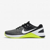 Nike zapatillas para mujer metcon dsx flyknit gris oscuro/voltio/negro/blanco