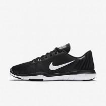 Nike zapatillas para mujer flex supreme tr 5 negro/platino puro/blanco