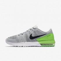Nike zapatillas para hombre air max typha platino puro/verde furia/blanco/negro