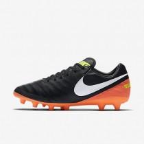 Nike zapatillas para hombre tiempo mystic v ag-pro negro/hipernaranja/voltio/blanco