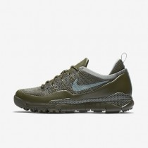 Nike zapatillas para hombre lupinek flyknit low caqui militar/caqui militar/verde mica