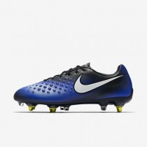 Nike zapatillas para hombre magista opus ii sg-pro anti clog traction negro/azul extraordinario/aluminio/blanco