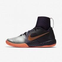 Nike zapatillas para mujer court flare morado dinastía/mango brillante/plata metalizado/oro rosa metalizado