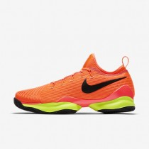Nike zapatillas para hombre court air zoom ultra react clay hipernaranja/voltio/negro