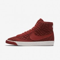 Nike zapatillas para mujer blazer mid premium se cayena oscuro/marfil/cayena oscuro