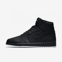 Nike zapatillas para hombre air jordan 1 retro high og negro/negro/blanco