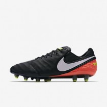 Nike zapatillas para hombre tiempo legend vi ag-pro negro/hipernaranja/voltio/blanco