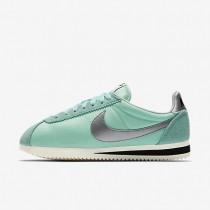 Nike zapatillas para mujer classic cortez nylon premium toque tropical/vela/negro/plata metalizado