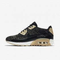Nike zapatillas para mujer air max 90 ultra 2.0 flyknit metallic negro/negro