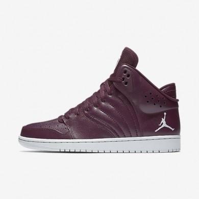 Nike zapatillas para hombre jordan 1 flight 4 castaña noche/platino puro