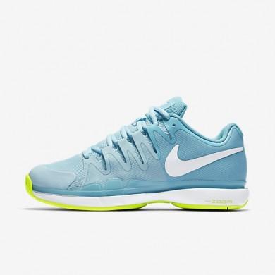 Nike zapatillas para mujer court zoom vapor 9.5 tour azul polarizado/azul tranquilo/voltio/blanco