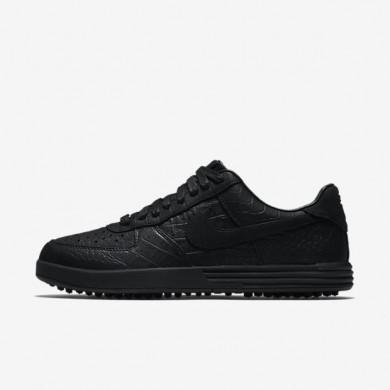 Nike zapatillas para hombre lunar force 1 g premium negro/negro/negro