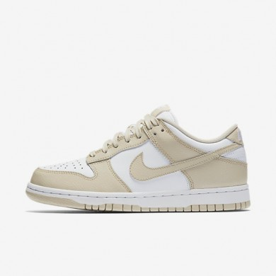 Nike zapatillas para mujer dunk low blanco/crudo