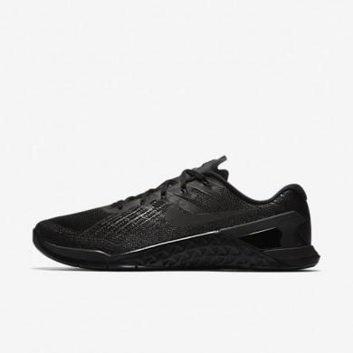Nike zapatillas para hombre metcon 3 negro/negro