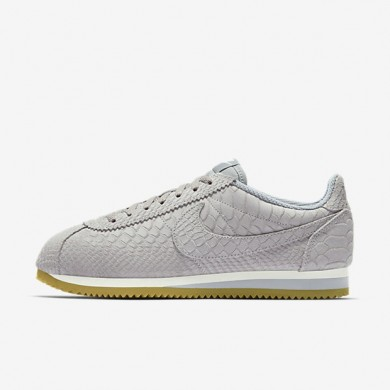 Nike zapatillas para hombre classic cortez leather premium gris lobo/marrón claro goma/vela/gris lobo
