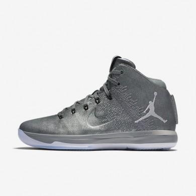 Nike zapatillas para hombre air jordan xxxi premium gris azulado/oro metalizado/gris oscuro/gris lobo