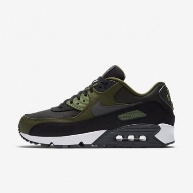 Nike zapatillas para hombre air max 90 premium negro/verde legión/verde palmera/antracita