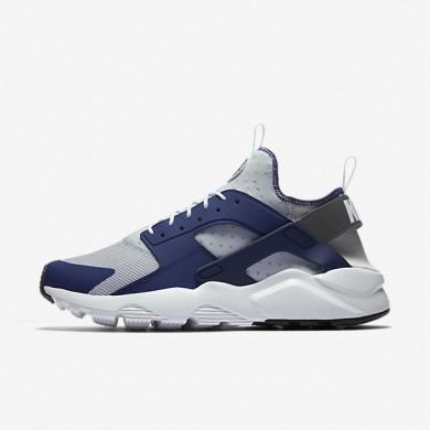 Nike zapatillas para hombre air huarache ultra azul binario/platino puro/antracita/negro