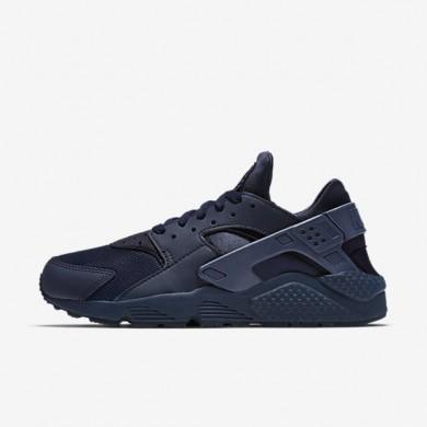 Nike zapatillas para hombre air huarache azul marino medianoche/azul marino medianoche/azul marino medianoche