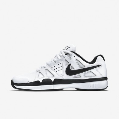 Nike zapatillas para hombre air vapor advantage leather blanco/gris oscuro/negro