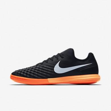Nike zapatillas para hombre magistax finale ii ic negro/hipernaranja/azul extraordinario/blanco
