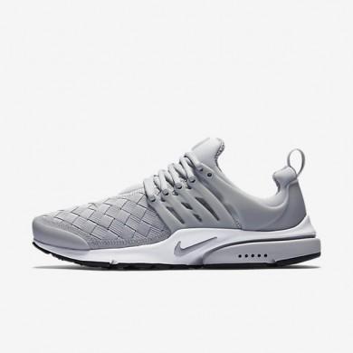 Nike zapatillas para hombre air presto se gris lobo/negro/blanco/gris lobo