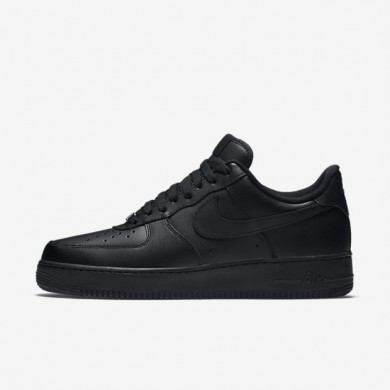 Nike zapatillas para hombre air force 1 '07 negro/negro