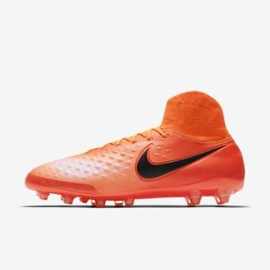 Nike zapatillas para hombre magista orden ii ag-pro carmesí/rojo universitario/mango brillante/negro