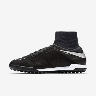 Nike zapatillas para hombre hypervenomx proximo tech craft 2.0 tf negro/plata metalizado/gris oscuro/negro